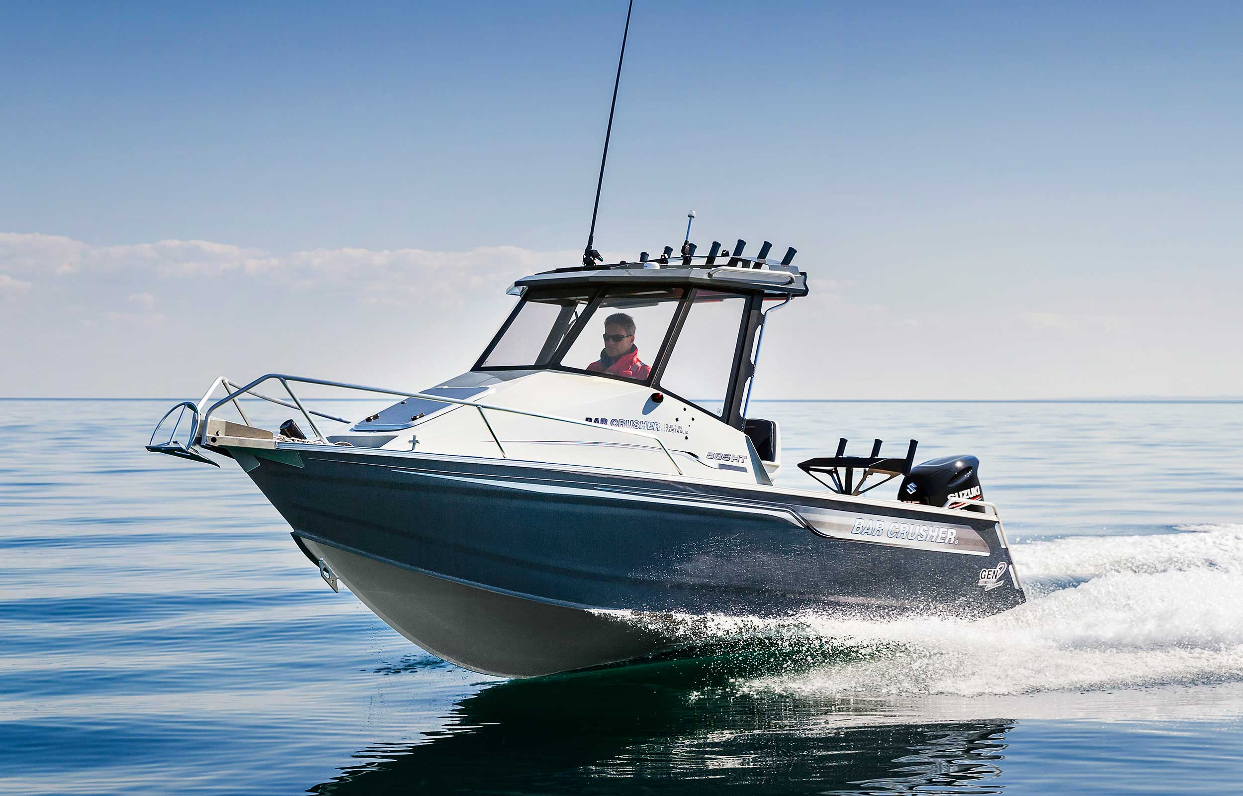 585HT - plate aluminium fishing boat | Bar Crusher Boats
