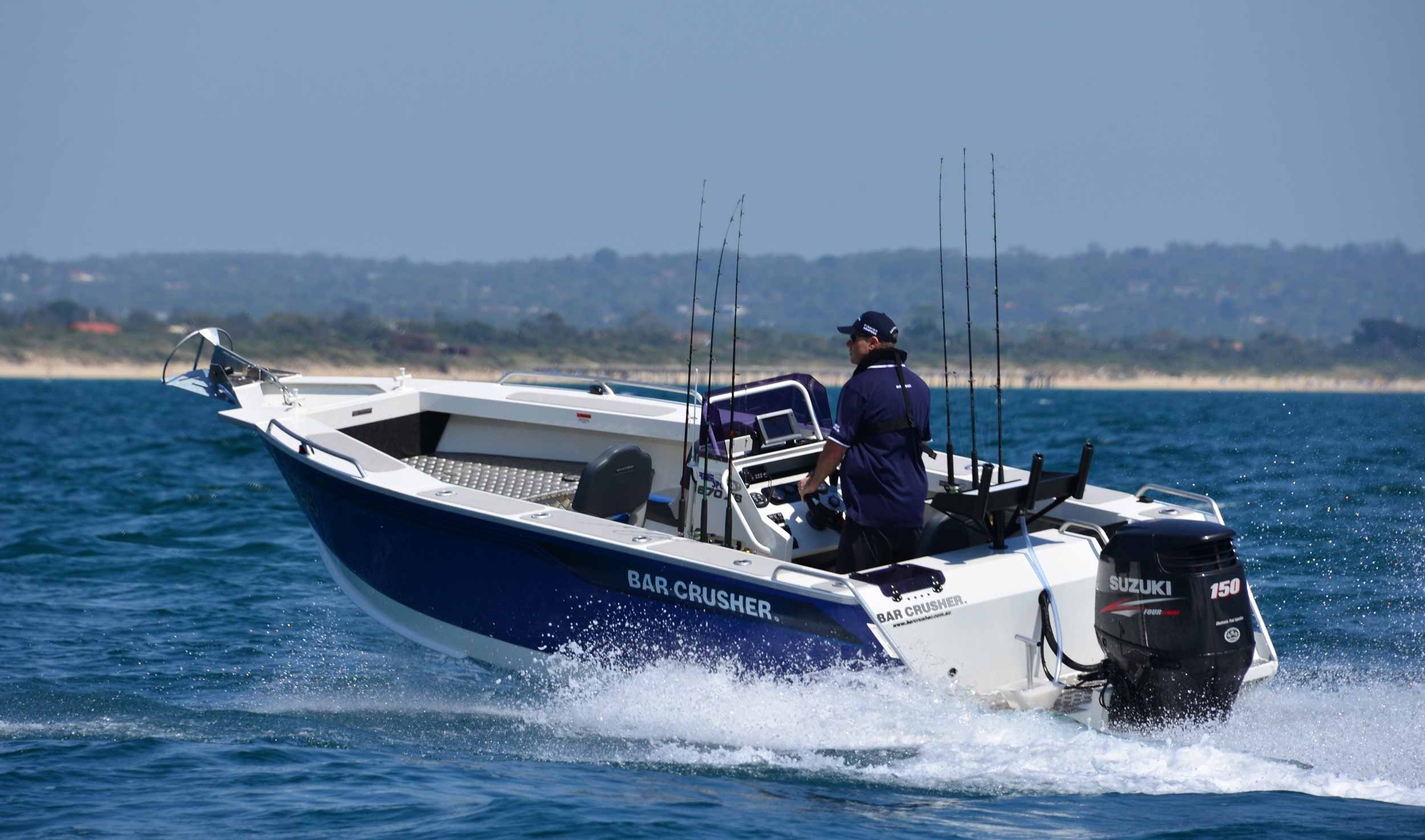 670XS - plate aluminium fishing boat | Bar Crusher Boats