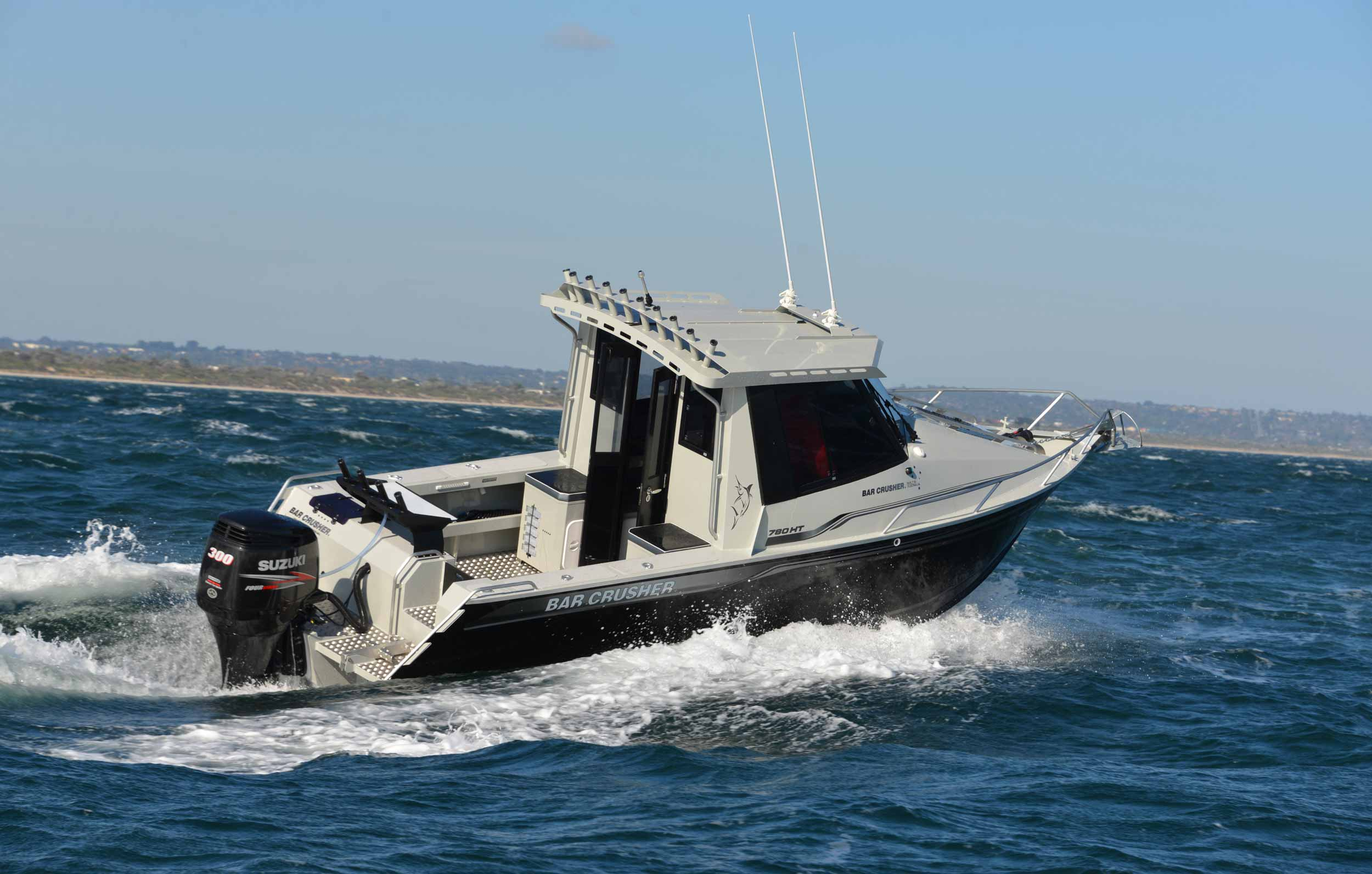 VIDEO: Bar Crusher 780HTP - Bar Crusher Boats