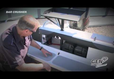 VIDEO: Bar Crusher transom