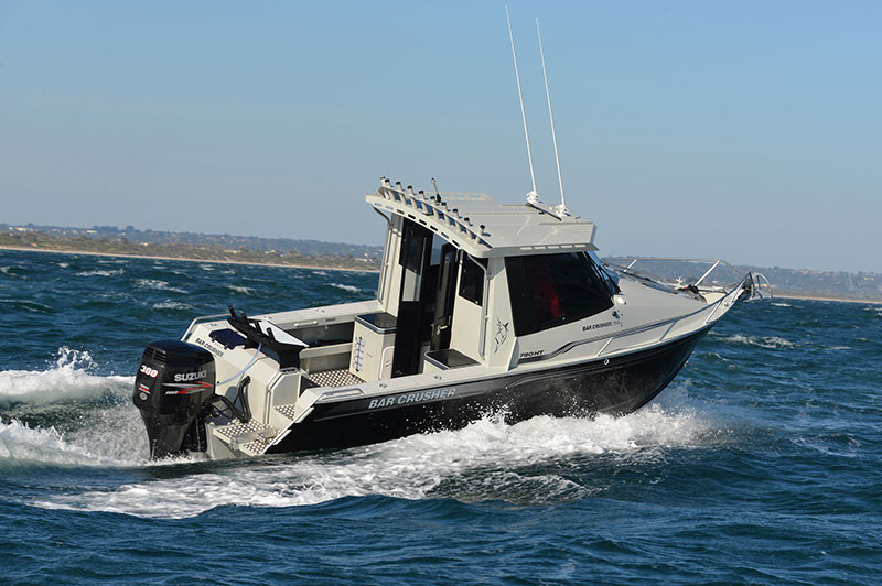 Fully-enclosed Fishing Weapons - Bar Crusher Boats