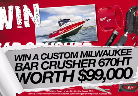 VIDEO: Win a Bar Crusher 670HT!