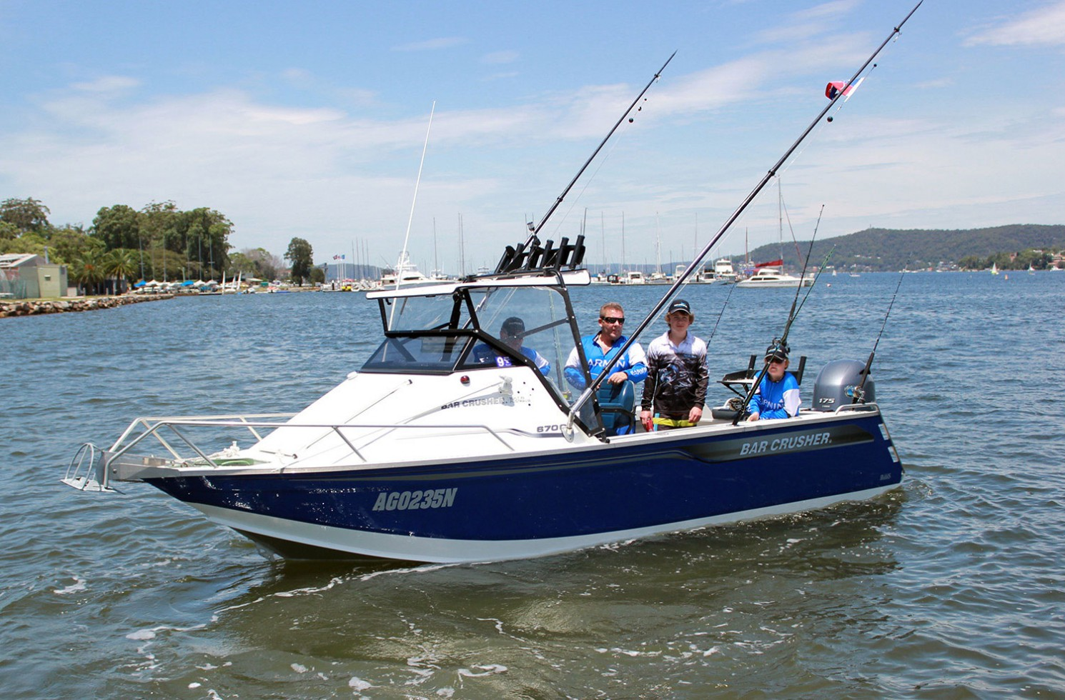 Despite its name, Central Coast GFC boat 'Kill Tank' does actually tag and release fish!