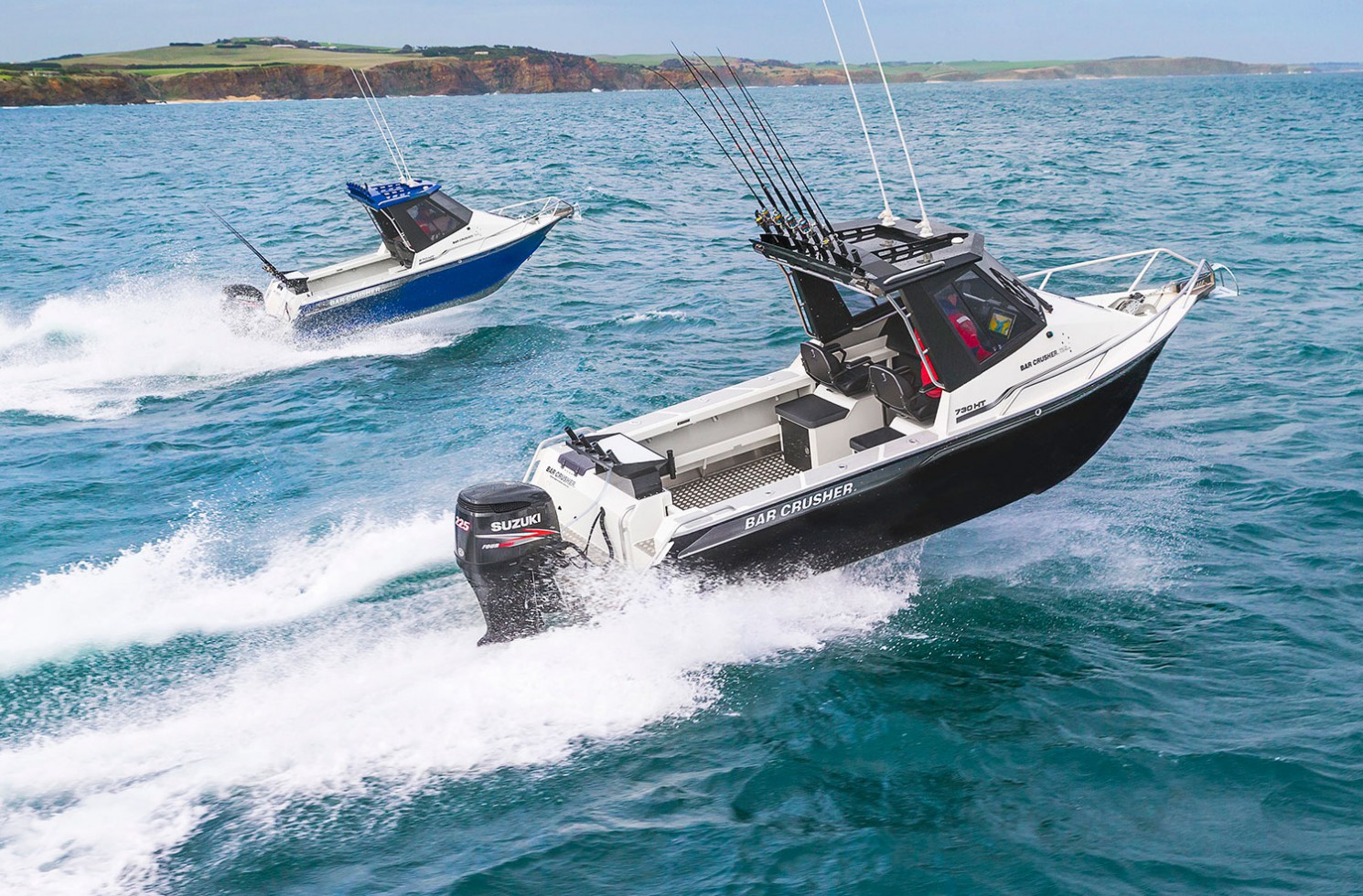 Built in Australia for serious Australian anglers.