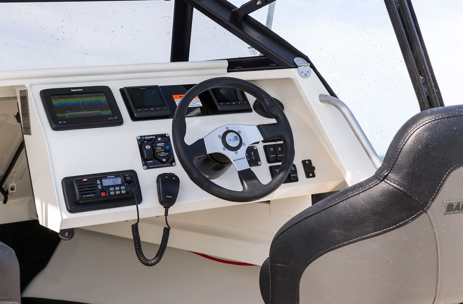 Functional dash layout on all C series models.