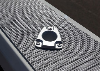 Cast alloy rod holders