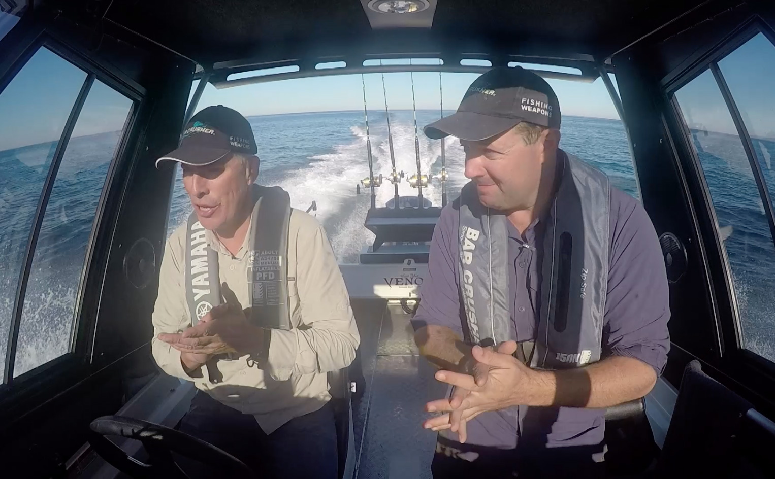 New 730HT for Aussie fishing TV show