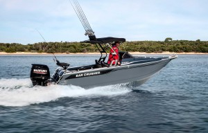 Bowrider Boat For Family Towsports And Fishing