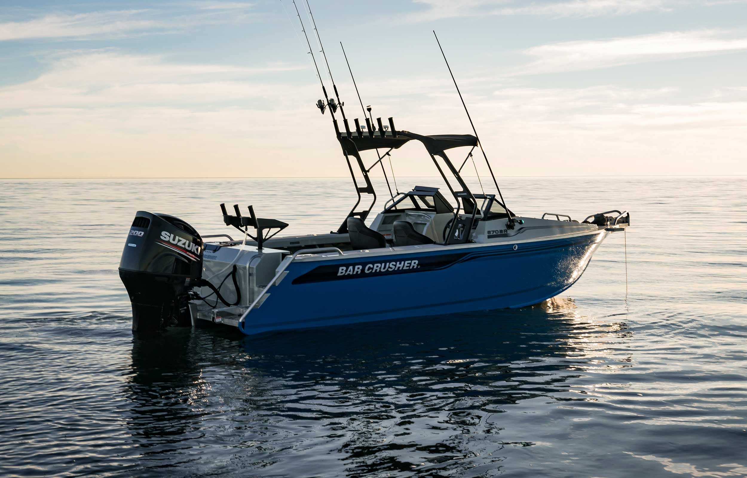 670BR Fishing And Family Boat