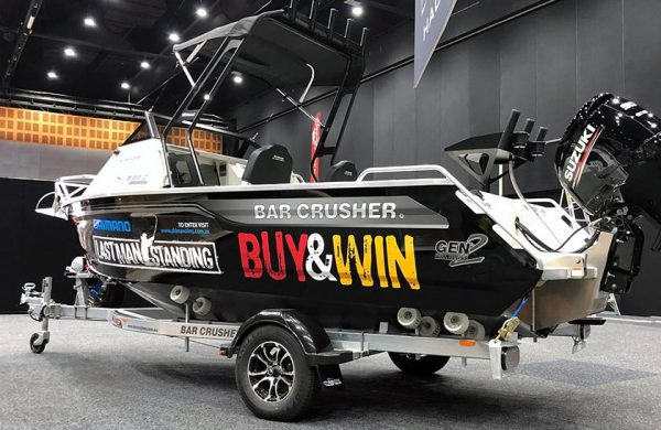 WIN A BAR CRUSHER BOAT!