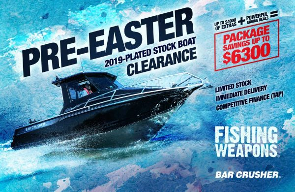 2019-plated stock boat clearance!