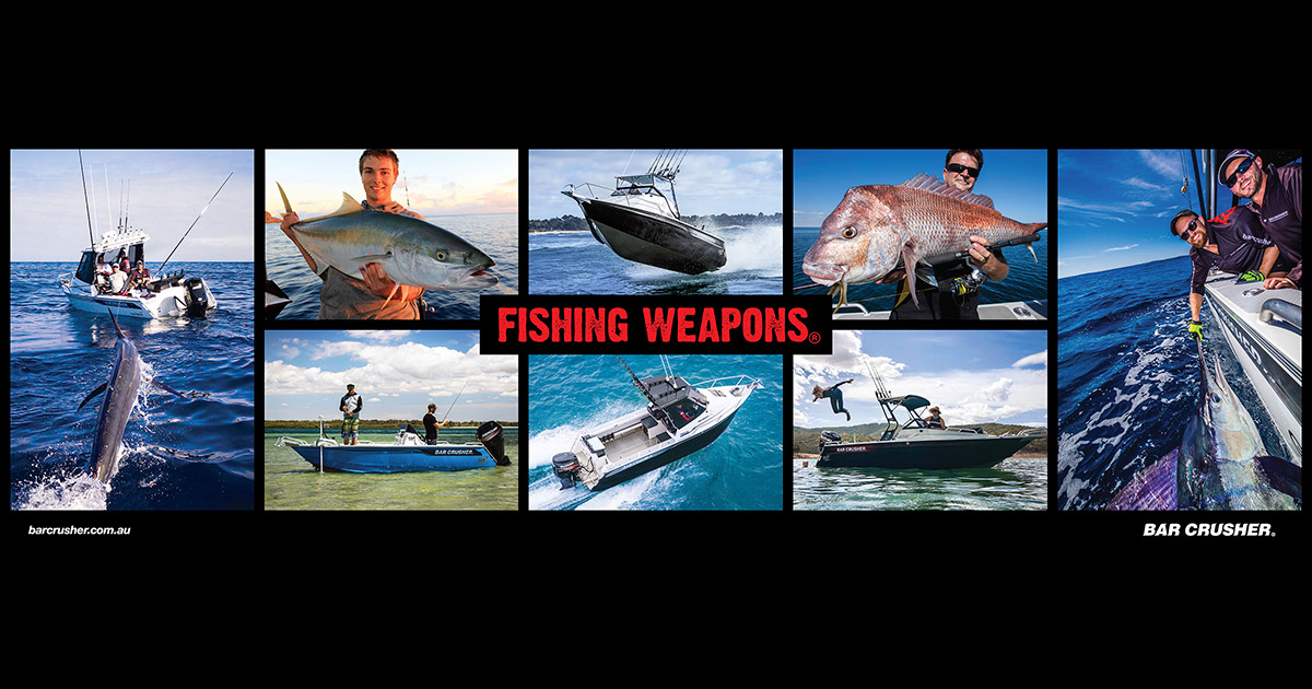 best boats for fishing weapons